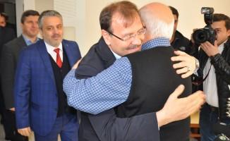 Çavuşoğlu'ndan Bursa'da anlamlı ziyaret
