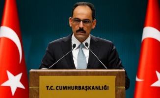 """İbrahim Kalın: """"Terörizme karşı mücadelede etkin uluslararası işbirliği"""""""