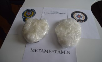 Ağrı'da 1 kilogram uyuşturucu ele geçirildi