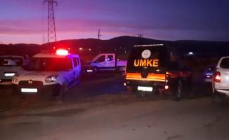 Ankara'da göçük: 2 ağır yaralı