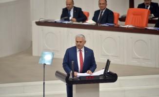 """Başbakan Binali Yıldırım: """"Bugün itibarıyla görevden uzaklaştırılmış 106 belediye başkanı var."""""""