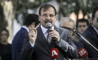 """Başbakan Yardımcısı Çavuşoğlu: """"Kudüs için bağırmayacağız da kim bağıracak"""""""