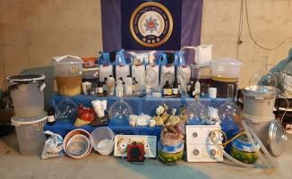 Bursa'da çok sayıda kişi uyuşturucudan tutuklandı