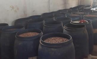 Adana'da 21 ton kaçak içki ele geçirildi
