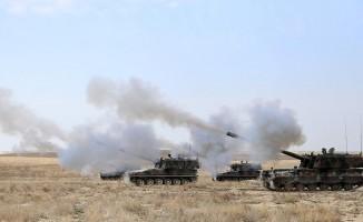 Afrin'deki PYD ve YPG mevzileri vuruldu