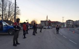 Bursa'da Jandarma timlerinden huzur uygulaması