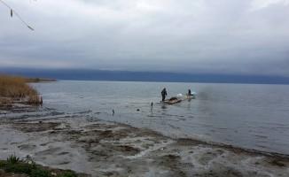 Bursa'da korkutan görüntü! İznik gölü 5 metre çekildi!