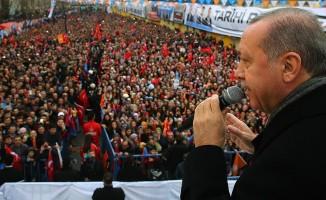 Cumhurbaşkanı Erdoğan: Çok kısa sürede bu operasyonu tamamlayacağız