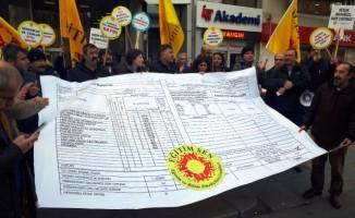 Eğitim-Sen'in karneli eylemine polis müdahalesi