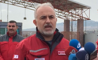 Türk Kızılayı harekat bölgesinde