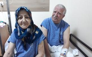 Bursa'da 40 yıllık eşini böbreğiyle hayata bağladı