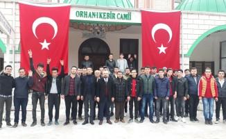 Bursalılardan Zeytin Dalı Harekat'ına büyük destek