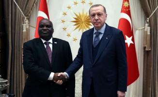 Cumhurbaşkanı Erdoğan, Buruni Meclis Başkanını kabul etti