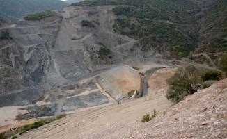 Bursa'daki barajın inşaatı zemin problemi yüzünden durdu