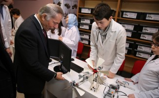 Robotik kodlama atölyesi Bayrampaşa'da açıldı