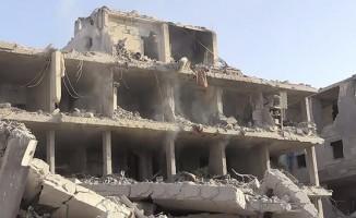 Afrin'de terör örgütünün tuzakladığı binada patlama: 11 kişi yaşamını yitirdi