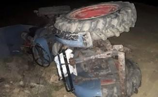 Bursa'da traktör devrildi! Alkollü sürücü altında kaldı