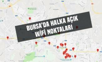Bursa'da halka açık wifi noktaları