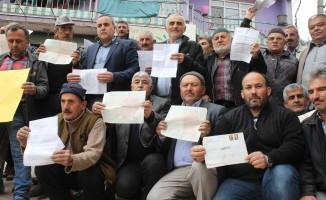 Bursa'da şaka gibi olay!  Köylülerin tapulu arazileri elinden alındı