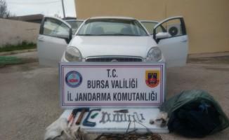 Bursa'da trafo hırsızları
