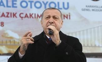 Cumhurbaşkanı Erdoğan Afrin'deki son rakamı açıkladı