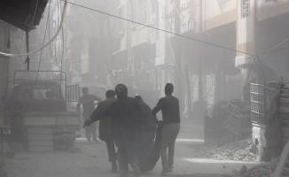 Doğu Guta'da bombardımanlarda 59 sivil hayatını kaybetti