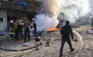 İdlib'de pazar yerine hava saldırısı! 28 ölü