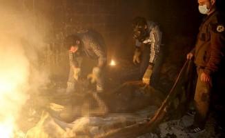 Suriye'de korkunç Saldırı