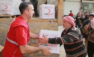 Türk Kızılayından Afrin'e insani yardım