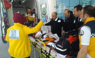 Bursa'da pencereden düşen çocuk ağır yaralandı