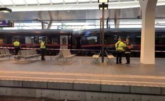 İki tren çarpıştı! Yaralılar var