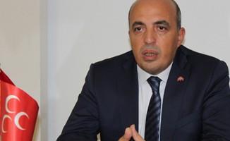 MHP il başkanı istifa etti