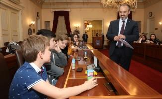 Yabancı öğrenciler Bursa'ya hayran kaldı