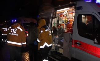 Yolcu otobüsü şarampole indi! 18 yaralı