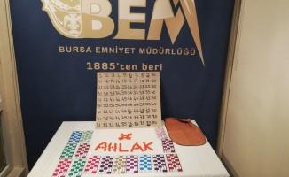 Bursa'da kumarhanelere baskın! Çok sayıda gözaltı var