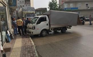 Bursa'da görünmez kaza!