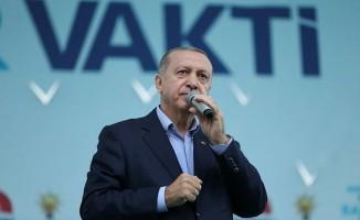 Cumhurbaşkanı Erdoğan'dan İnce'ye: Hadi gel bakalım onu da durdur