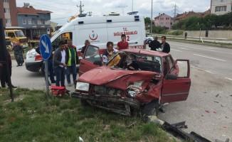 Feci kaza! 3 yaralı