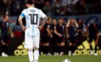 Arjantin'e, Hırvatlardan ağır darbe