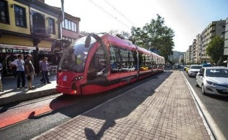 Bursa'da tramvay hatlarına düzenleme