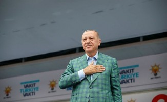 Cumhurbaşkanı Erdoğan'dan sandık görevlilerine çağrı