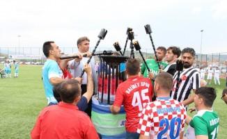 Kula'da 3. futbol şöleni başladı