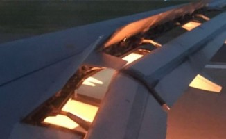 Suudi Arabistan Milli Takımı'nı taşıyan uçak alev aldı