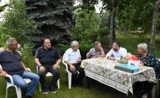 AK Parti'den 15 Temmuz Şehidinin ailesine ziyaret