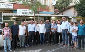 Başkan Köşker, Gaziler Mahallesi'ne ziyaret