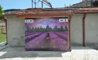 Köye 5 yıldızlı tuvalet