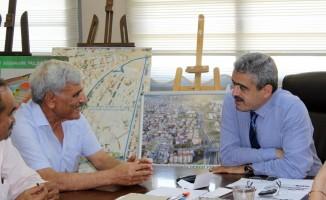 Kuva-yi Milliye Mücahitler Derneğinden Başkan Alıcık'a ziyaret