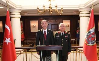 Milli Savunma Bakanı Akar'dan Genelkurmay Başkanı Güler'e ziyaret