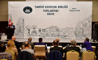 Tarihi Kentler Birliği toplantısı Ünye'de yapılacak