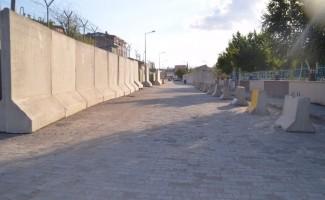 Ağrı'da alt geçite alternatif yollar trafiğe açıldı
